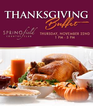 Thanksgiving Dinner Buffet
