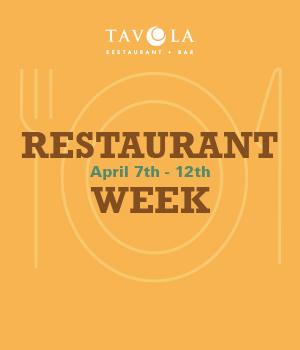 Restaurant Week April 2019